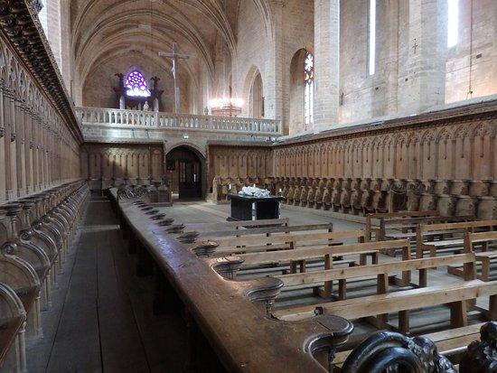 La Chaise-Dieu, Франция: Stalles et jubé