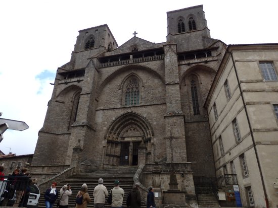 La Chaise-Dieu, Франция: Façade