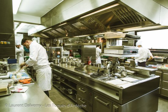 Ardeche, Francia: En cuisine!