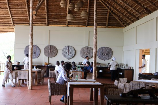 Mole National Park, Ghana: The dining area