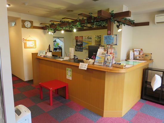 Hotel Select Inn Shimada Ekimae: 入口から見たフロントレセプション