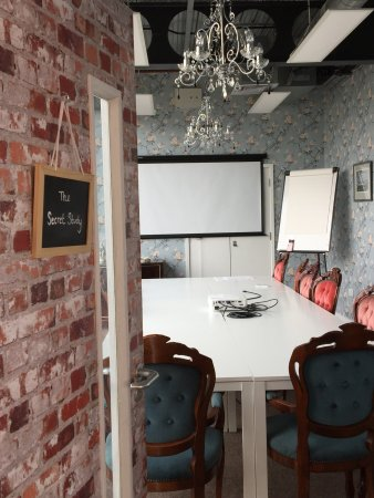 Salford, UK: A meeting room
