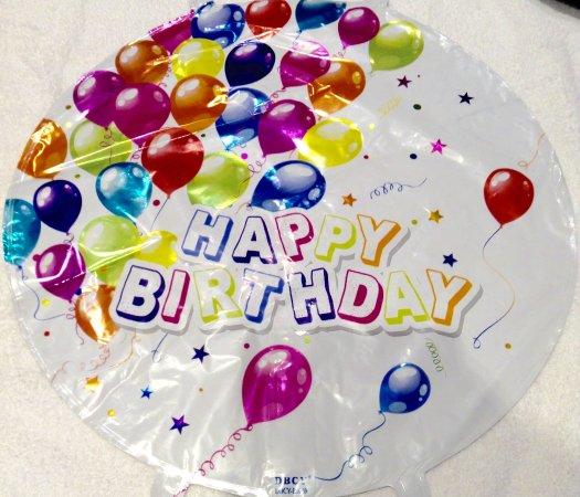 Double Dipz 18 Foil Balloons Happy Birthday