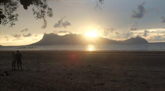 Bako National Park Hostel: sunset