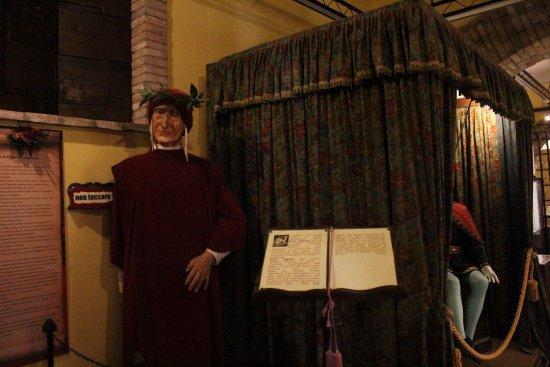 Gradara, Italien: Dante Alighieri