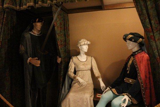 Gradara, Italien: Paolo e Francesca scoperti dal fratello (di lui)