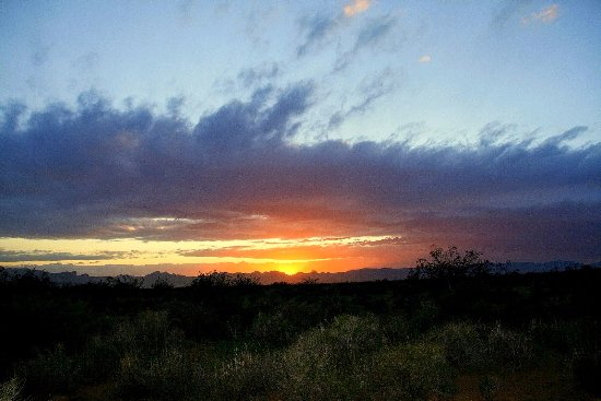 Gorgeous Sky in the desert.  Golden Valley, AZ