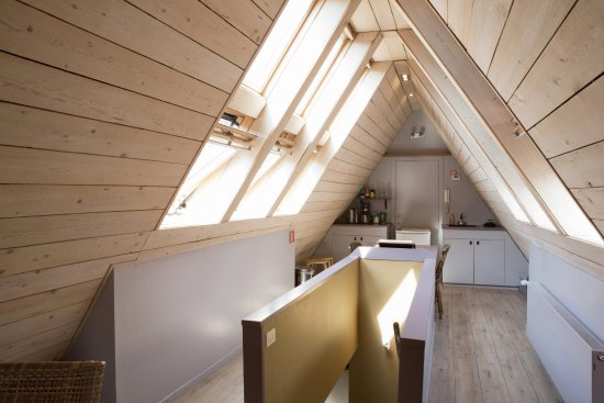 The Abiente Rooms: Little kitchenette where you can make tea or coffee
