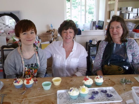 Dwyran, UK: Cupcake Class
