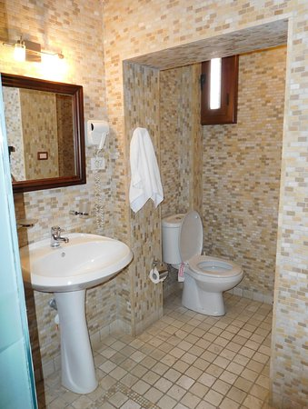 Hotel Mangalemi: 洗面所とトイレ