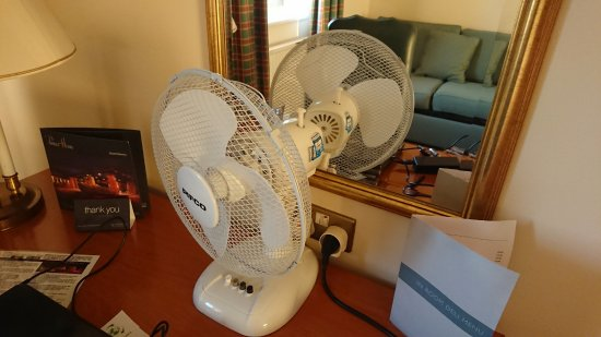 South Normanton, UK: AC in a 4 star hotel