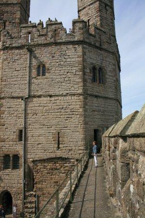 Caernarfon, UK: Een van de torens