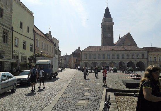 namestí Míru - Slavonice