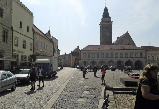 namesti Miru - Slavonice
