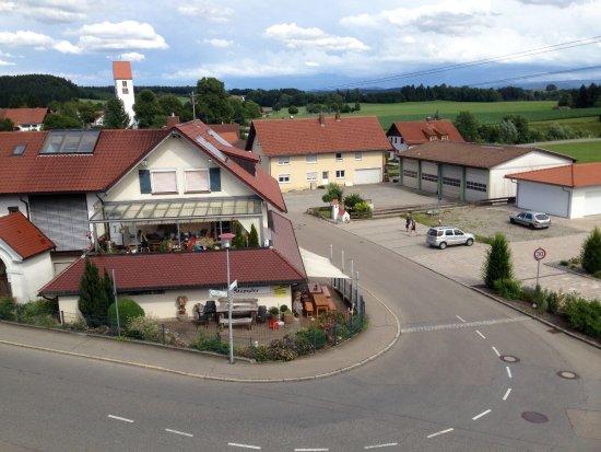 Kisslegg, Germany: Ausblick zum Ort