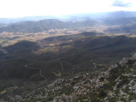 Cucugnan, Prancis: Vue du haut