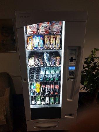 Snackgetränkeautomat Nur Münzen Picture Of H Hotel Koeln Hurth