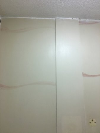 Altamonte Hotel and Suites: Outside grounds and mold above tub, after complaining about mold the next day they came into the