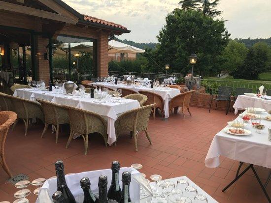 Creazzo, Itália: Ristorante Villa degli Olmi - Biasio Golf