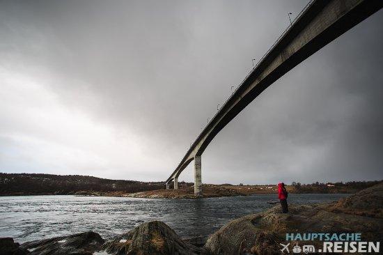 Bodo, Noruega: Brücke am Saltstraumen