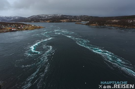 Bodo, Noruega: Blick von der Brücke