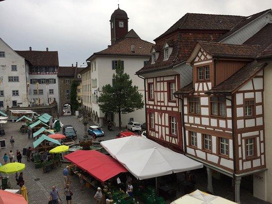 Wil, Suiza: Le jour de marché