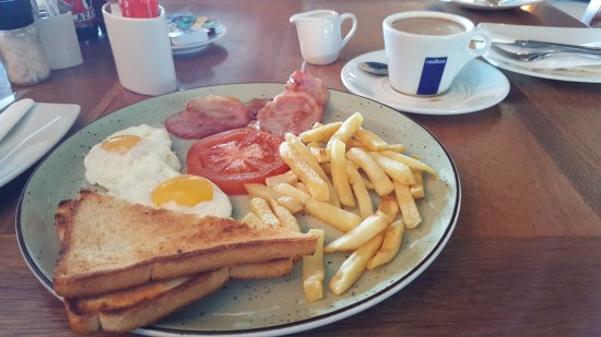 Benoni, South Africa: Best value breakfast at the current time.