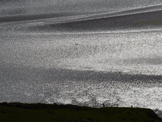 View from Suainaval (Uig Sands detail)