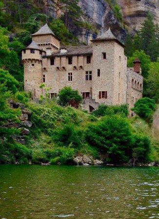 Sainte-Enimie, Francia: Photo prise depuis le kanoe