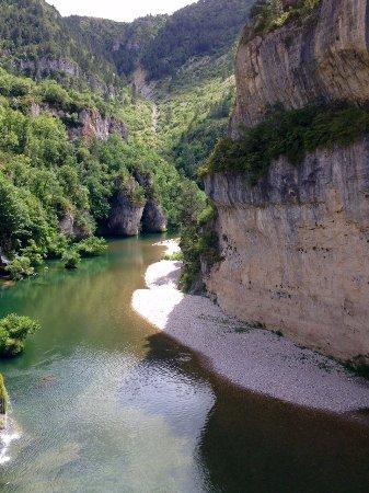Sainte-Enimie, Francia: Les Gorges du Tarn