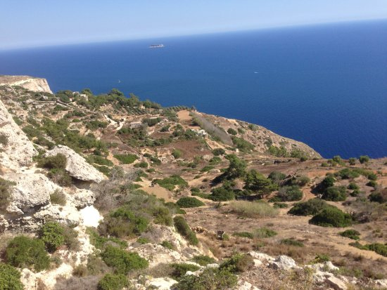 Dingli, Μάλτα: View from this gorgeous place