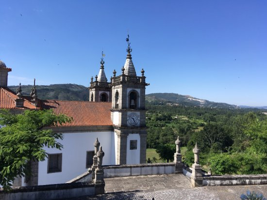 Povoa de Lanhoso, Portugal : Sanctuary of Our Lady of the Port of Ave