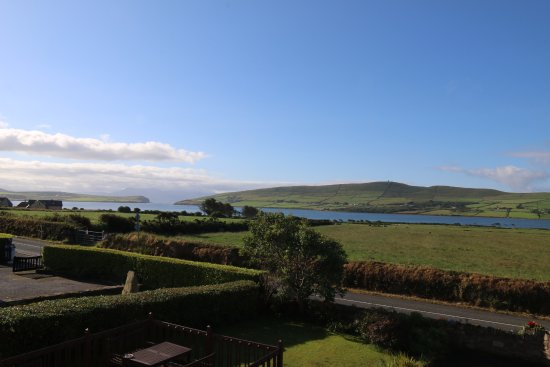 Brownes Bed & Breakfast Dingle: View out of the window