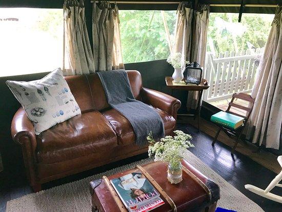 Osbaston, UK: Living Room