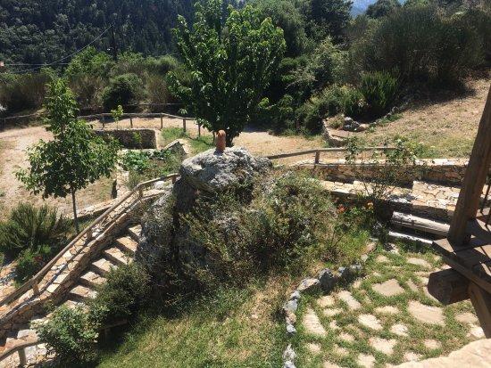 Polydroso, Hellas: Κήπος