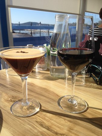 Lemon Tree Passage, Australien: Espresso Martini and Gartelmann Shiraz to finish