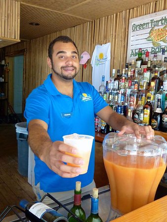 Bluff House Beach Resort & Marina: Have a Tranquil Turtle....or two!  This is our house rum punch.