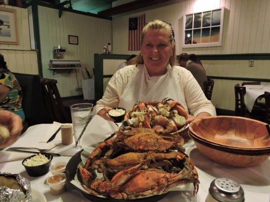 Lantana, FL: Garlic Crabs, so DELICIOUS.