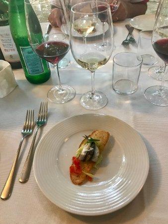 Bientina, Italy: Menù degustazione osteria , dall'entrè al dolce