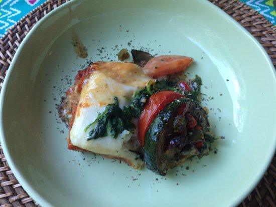 Hotel The Oak: Zelfgemaakte lasagne van Hilde . Héél lekker !