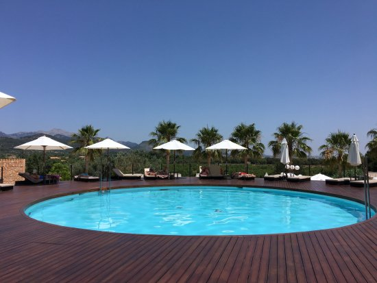 Sa Cabana Hotel Rural & Spa: The pool deck