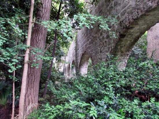 Trsteno, Croacia: Roman Aqueduct