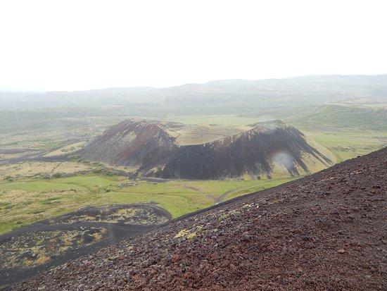 Bifrost, Iceland: Blick vom Krater