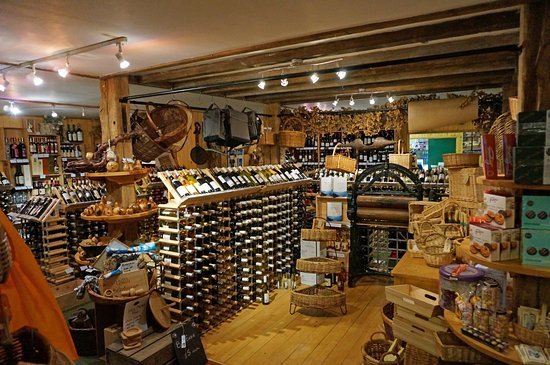 Sherborne, UK: Just a selection of the wine and gifts at Trencherman's