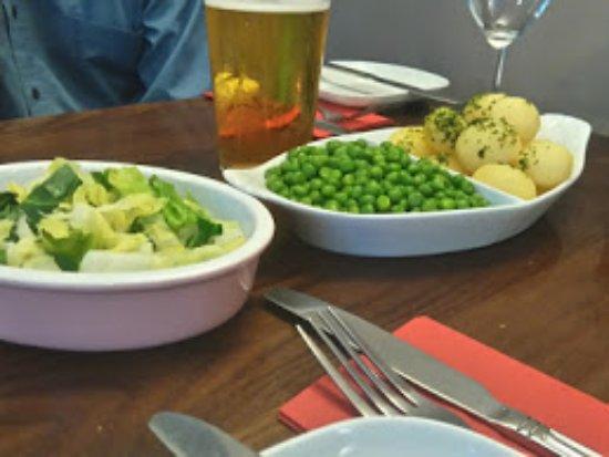 Chipping Sodbury, UK: Vegetable selection
