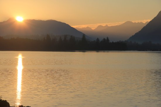 Sunrise on Lake Quinault