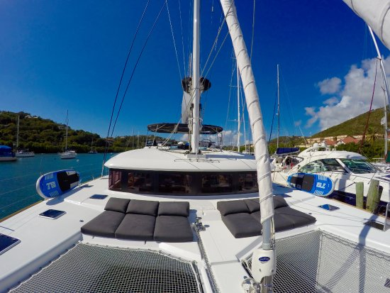 Road Town, Tortola: Foredeck
