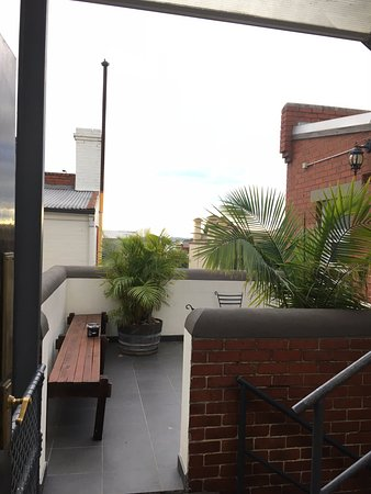 Fitzroy, Australië: The rooftop