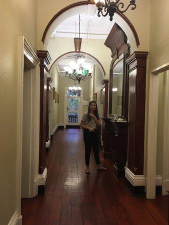 Fitzroy, Australië: The hallway
