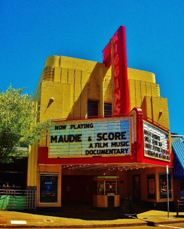 Vancouver, WA: Left side of Marquee